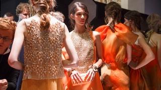 Giorgio Armani Privé İlkbahar 2017 Couture Defilesi Backstage