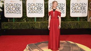 Golden Globe'dan Kırmızı Halı Görüntüleri