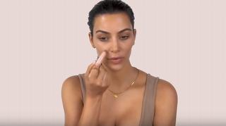 Kim Kardashian'ın Kontür Uygulaması