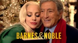 Lady Gaga Barnes&Noble'ın Yılbaşı Kampanya Filminde