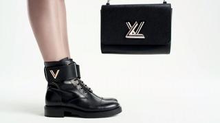 Louis Vuitton Ayakkabılar Dans Pistine Çıktı